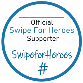 Official Swipe for Heroes badge